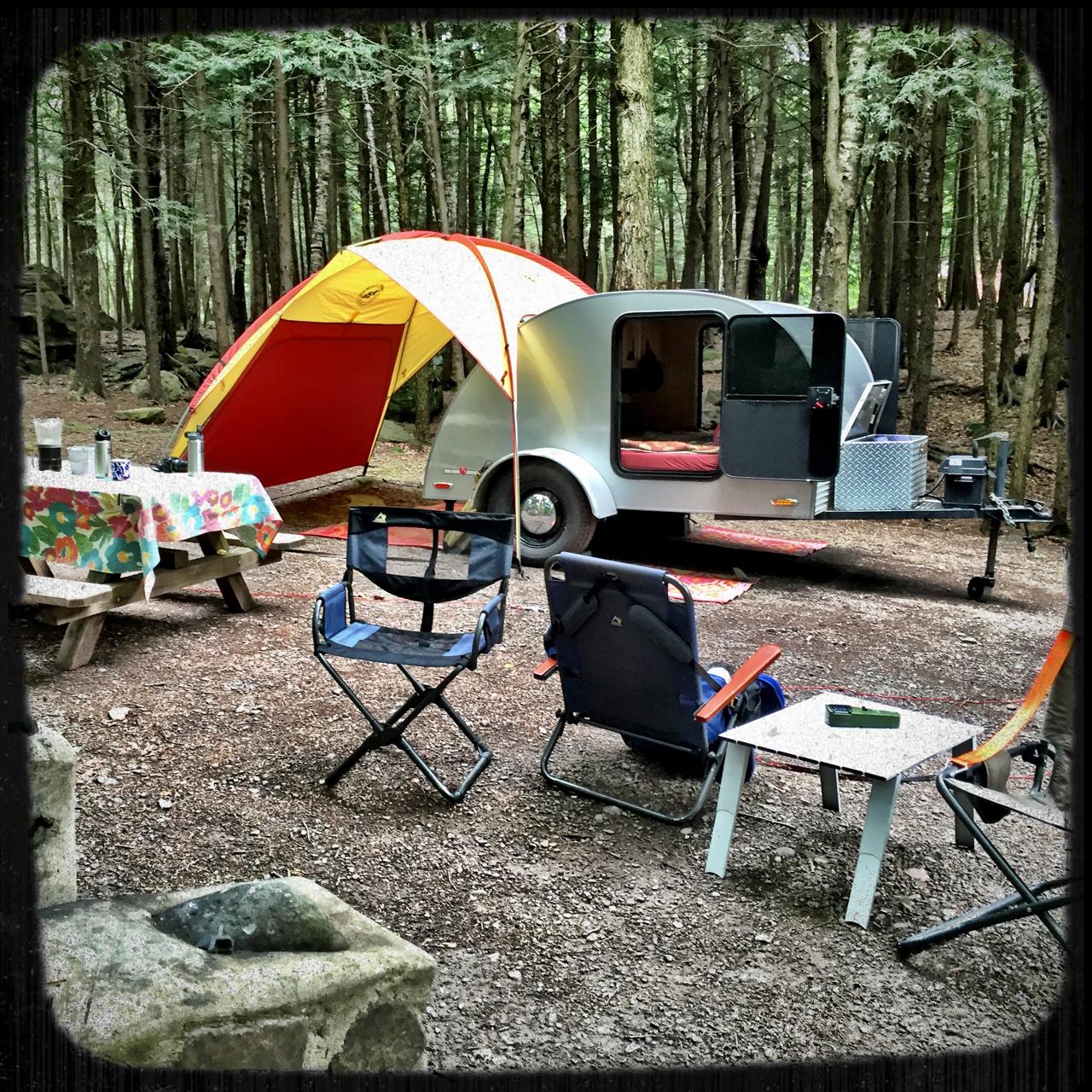 Camp Setup Tips Teardrop Traveling